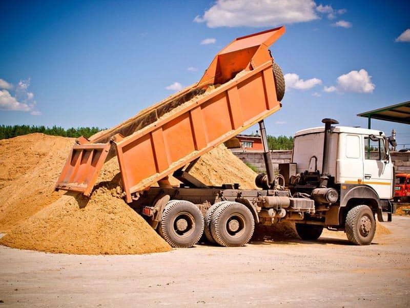 Купить песок в Тюмени с доставкой
